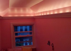 Track Lighting In Room