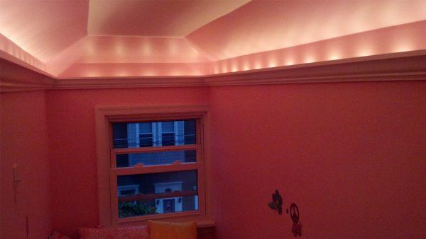 Track Lighting In Room