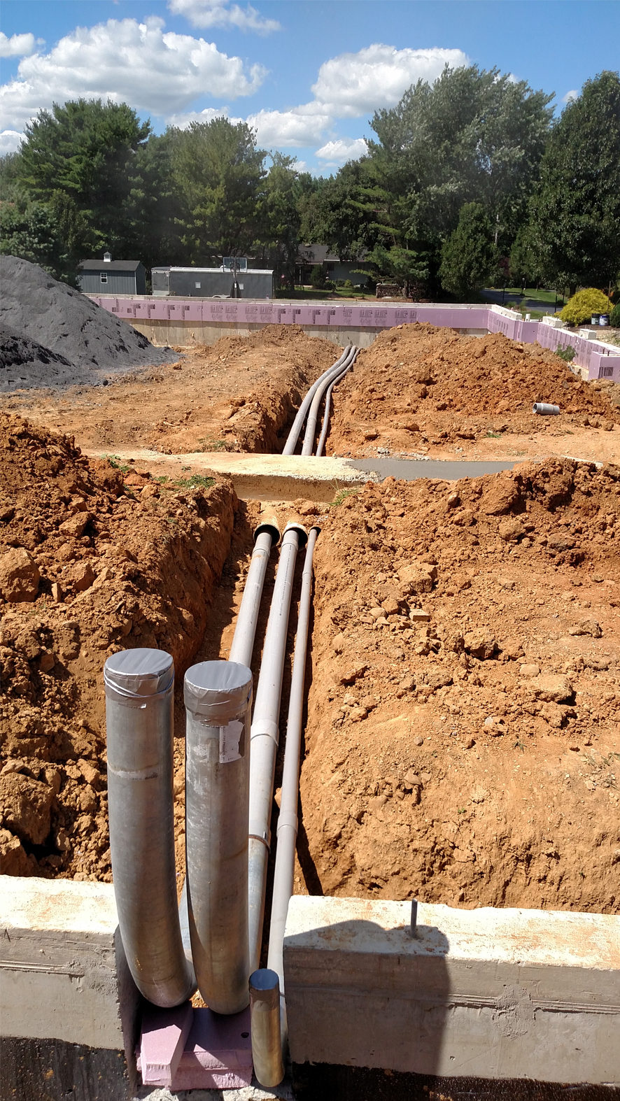Outdoor Electrical Piping