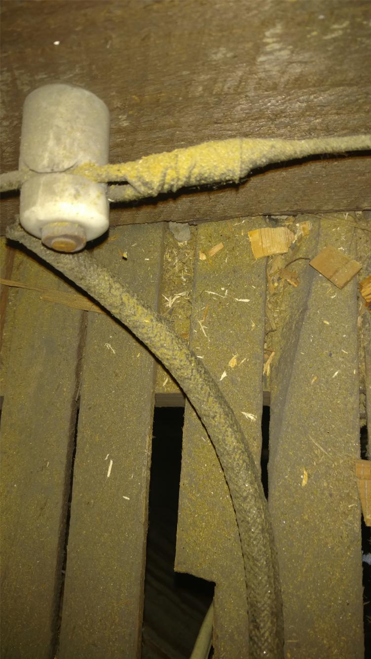 Knob & Tube Wiring 4