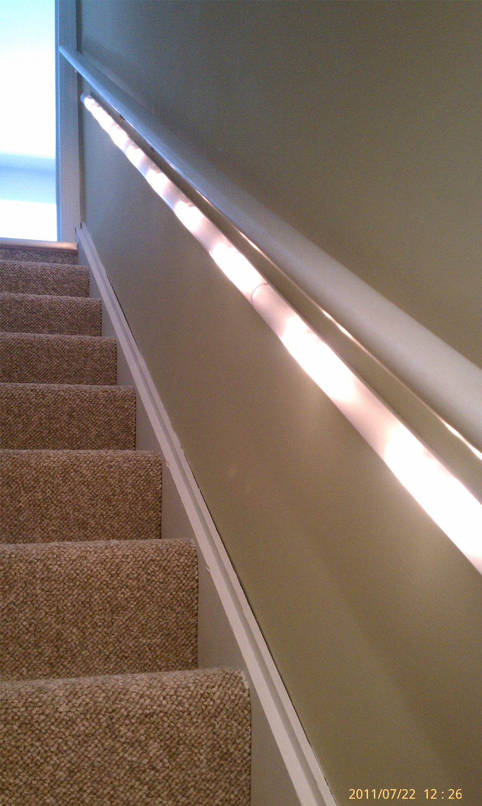 Trick Lighting on Stairs