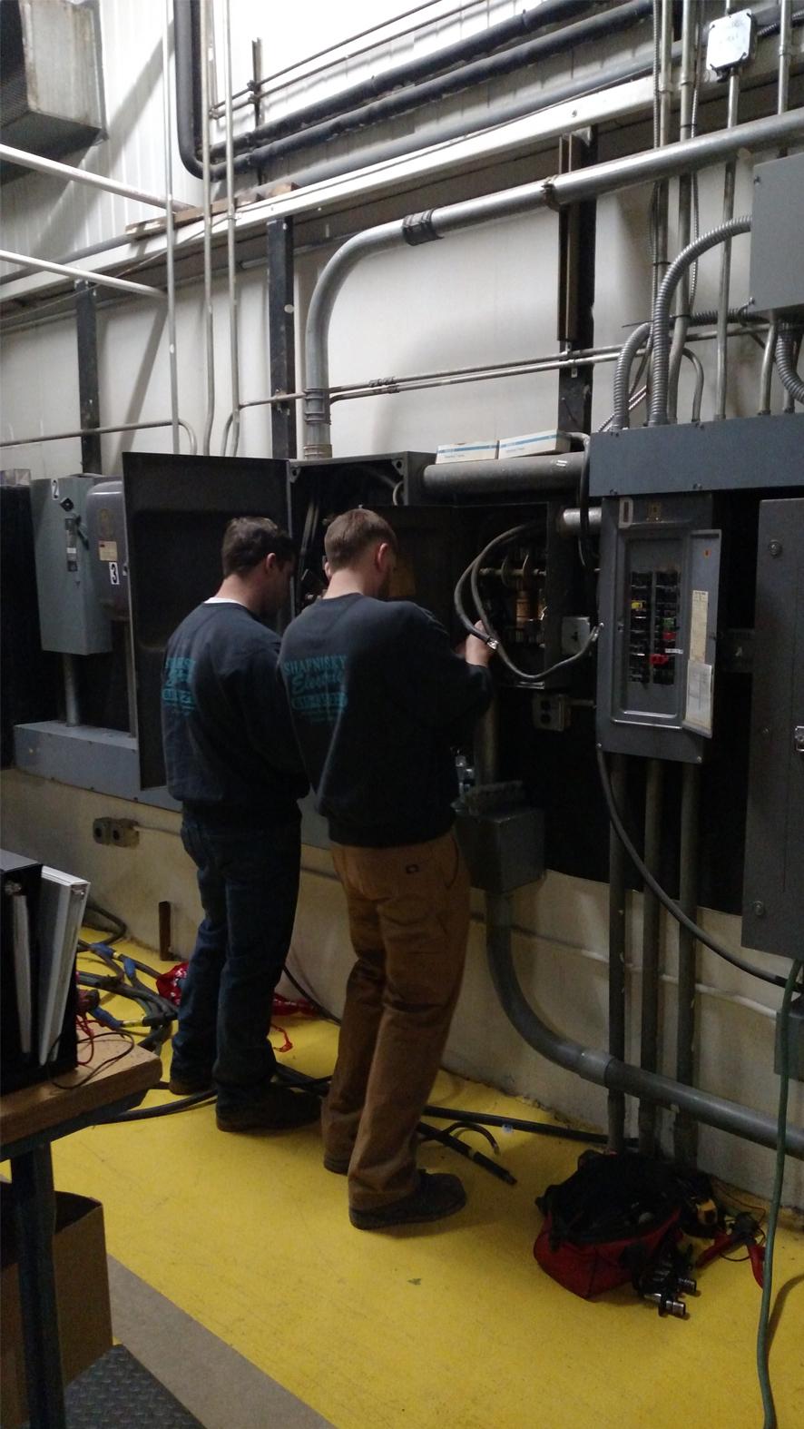 Generator Installation 7